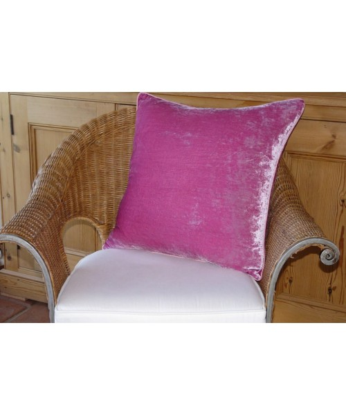 Cushion Silk Velvet Rose