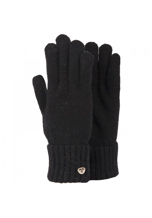 JailJam Sparkle Gloves Black