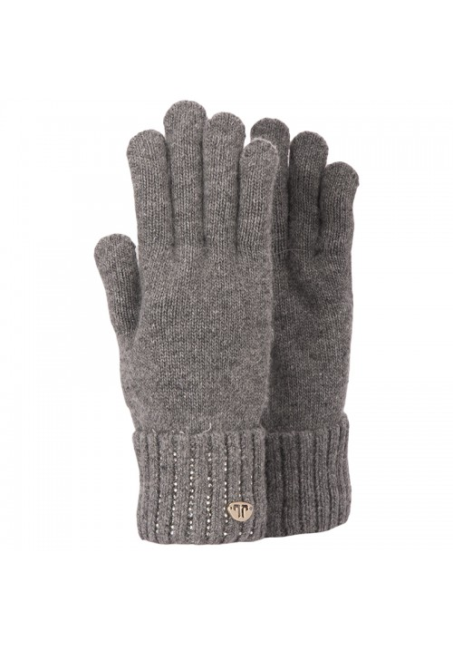 JailJam Sparkle Gloves Medium Grey