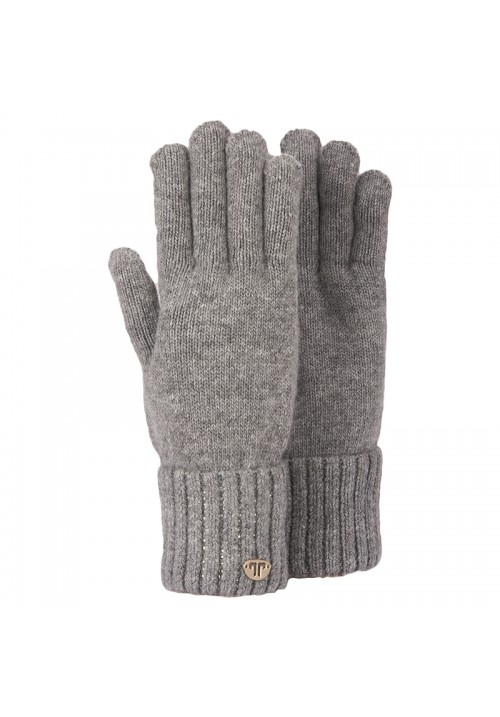 JailJam Sparkle Gloves Pearl Grey