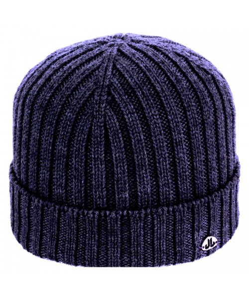 JailJam Top Wool Beanie Blue Navy