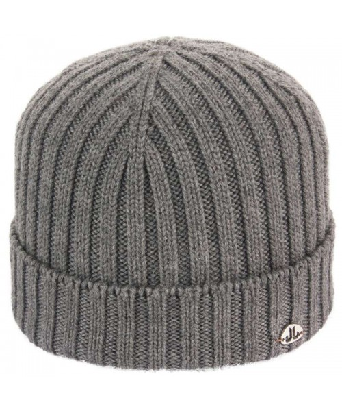 JailJam Top Wool Beanie Medium Grey