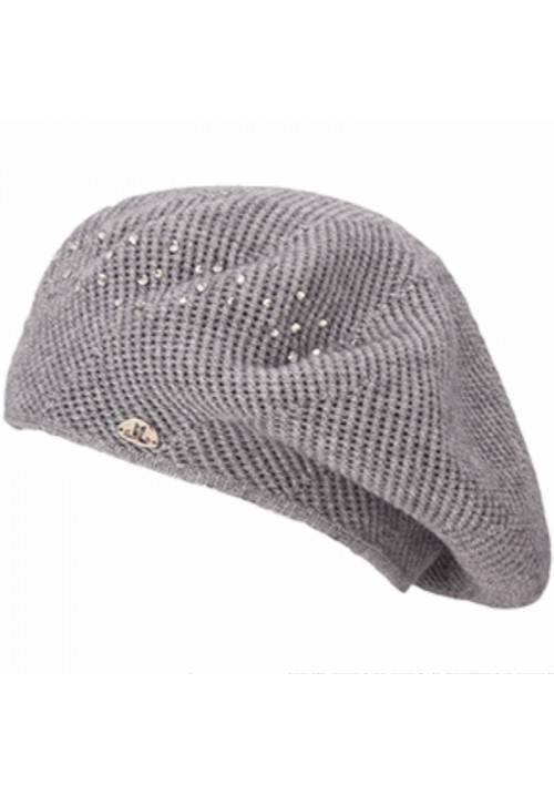 JailJam Sparkle Beret Medium Grey