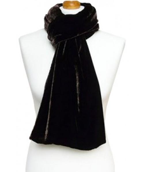 Classic Silk Velvet Scarf Bear